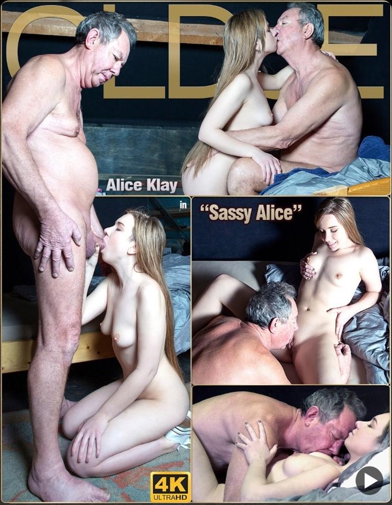 [Full HD] Oldje №692 - Sassy Alice - Alice Klay Mix - SiteRip-00:22:54   Ballslicking, Cumlicking, Closeup - 495,9 MB