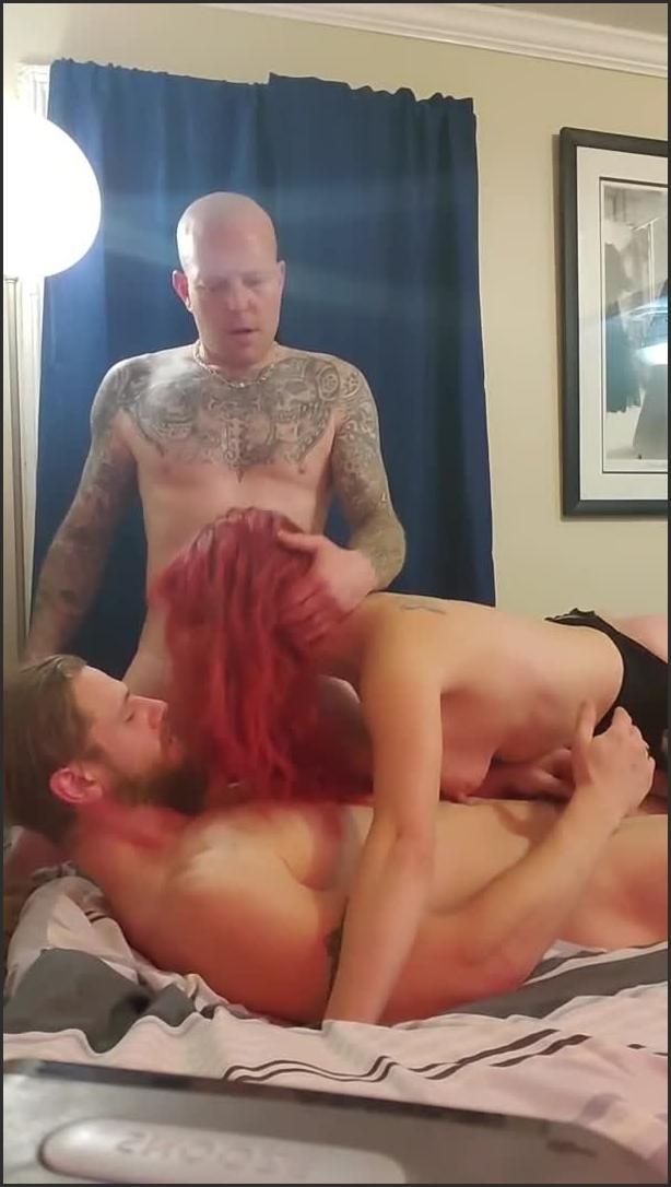 [SD] 3 guys vs 1 chick   - LilyTiger420 - -00:24:27 | Muscular Men, Fucking - 201,8 MB