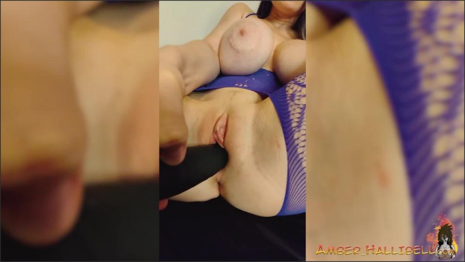 [Full HD] big boobs babe sensual masturbate pussy and ass hole dildo   - Amber Hallibell - -00:06:57 | Masturbation, Female Orgasm, Masturbate - 133,7 MB