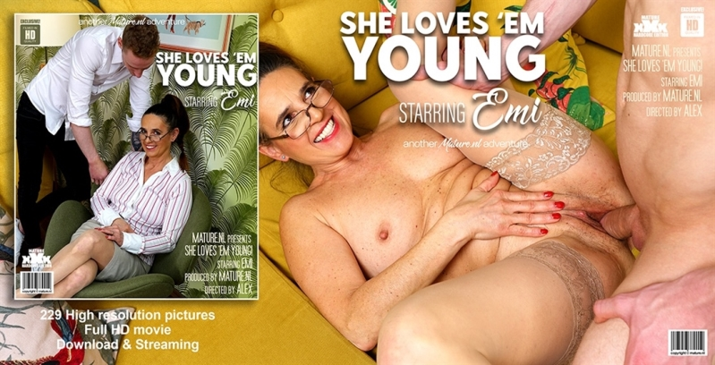 [HD] Emi - Mature Emi loves herself the cock from a horny toyboy - Emi (55) - SiteRip-00:30:34 | Cum, Asslicking - 436 MB