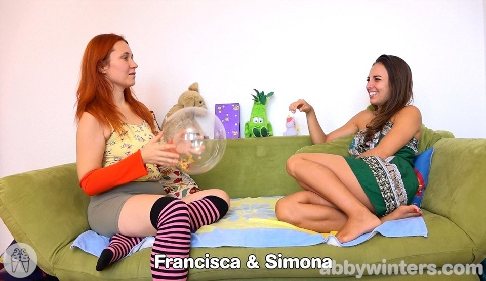 [Full HD] Francisca & Simona - Francisca & Simona - SiteRip-00:09:36 | Redhead, Hairy - 698,2 MB