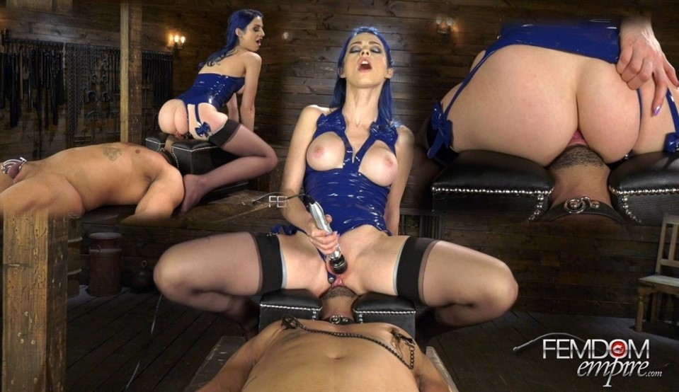 [Full HD] Jewelz Blu - Slave To The Clit Jewelz Blu - FemdomEmpire.com-00:13:07 | Nipple Clamps, Ass Licking, Stockings - 948,7 MB