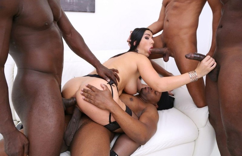 [HD] Lady Gang interracial double penetration with 4 BBC SZ - Lady Gang - SiteRip-00:56:58   Deep Throat, Cum Swallowing, Lingerie - 1,9 GB