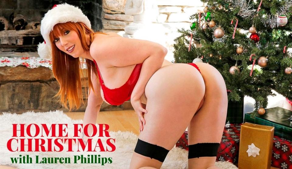 [4K Ultra HD] Lauren Phillips - Home For Christmas Lauren Phillips - SiteRip-00:31:04 | All Sex, Blowjob, Lingerie - 4,5 GB