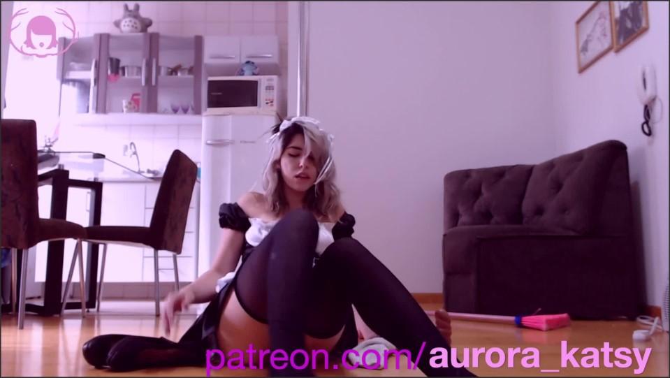 [Full HD] maid found a dildo while cleaning squirt   - Aurora Katsy - -00:07:10 | Squirt, Amateur, Teen - 188,8 MB
