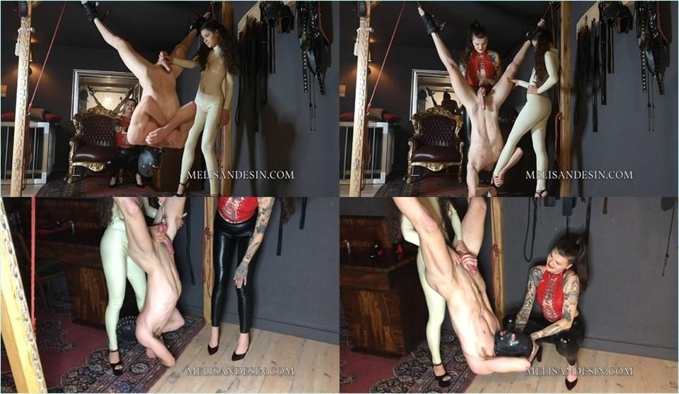 [Full HD] Miss Melisande Sin - Slave Pendulum Melisande Sin & Maya Sin Mix - MELISANDESIN.COM-00:10:57 | Cbt, Ballbusting - 1,6 GB
