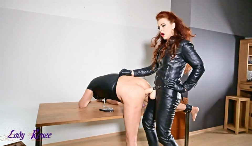 [HD] Mistress Lady Renee Lady Renee - SiteRip-00:09:38 | Strapon, Dildo, Pegging - 574,6 MB