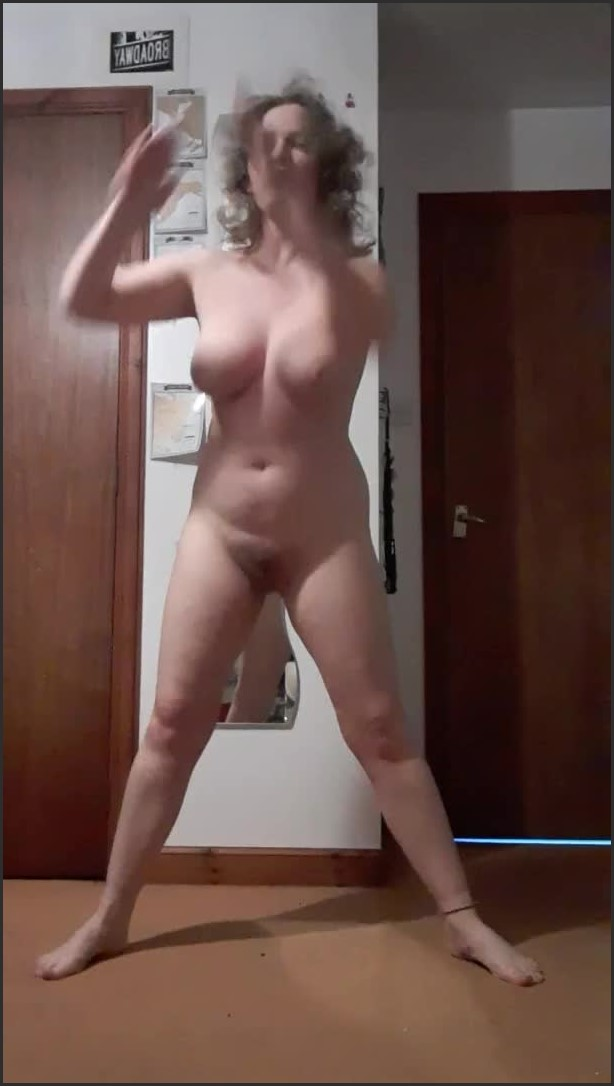 [SD] naked workout 3   - GoldenNeonRose - -00:06:09 | Webcam, Breast Bounce, Naked Workout - 70,2 MB