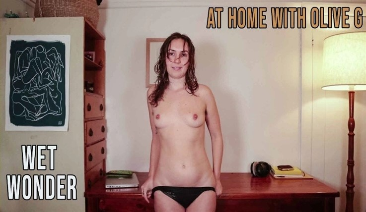 [Full HD] Olive G - At Home With Wet Wonder 23.09.20 - Olive G - SiteRip-00:23:42 | Fingering, Videos Solo Girl - 1,3 GB