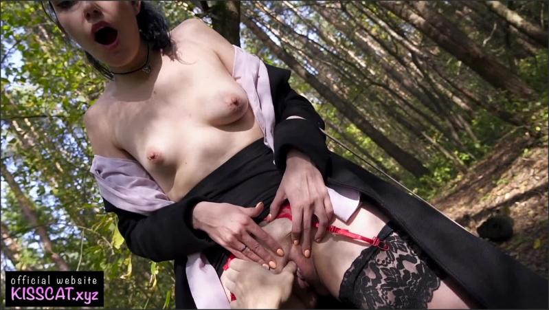[Full HD] public agent pickup russian student and almost cum in pussy in park   - Kisscat Public - -00:10:35 | Russian Public, Amateur, Risky Public Fuck - 383,8 MB