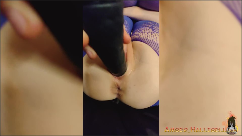 [Full HD] sexy girl in bodystockings play pussy and anal sex toy female orgasm   - Amber Hallibell - -00:28:30   Big Boobs, Amateur, Homemade - 616,1 MB