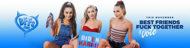 [HD] Sia Lust & Nola Exico & Kyler Quinn - Campaigning Hard - Sia Lust & Nola Exico & Kyler Quinn - SiteRip-00:46:33 | Facial, Ir, Fffm - 2 GB