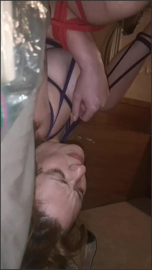 [SD] tied and used amateur rope bondage   - slipperylexi - -00:06:33 | Bondage, Verified Couples - 79 MB