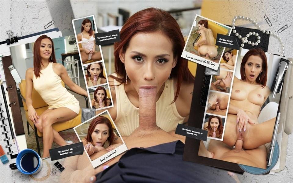 [Full HD] Veronica Leal - Ass Man Veronica Leal - SiteRip-00:20:35   Anal, Blowjob - 1,3 GB