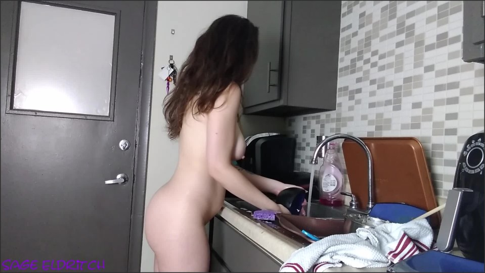 [Full HD] washing the dishes naked ass and tits jiggling   - SageEldritch - -00:13:12 | Naked Dishes, Jiggling Tits - 709,7 MB