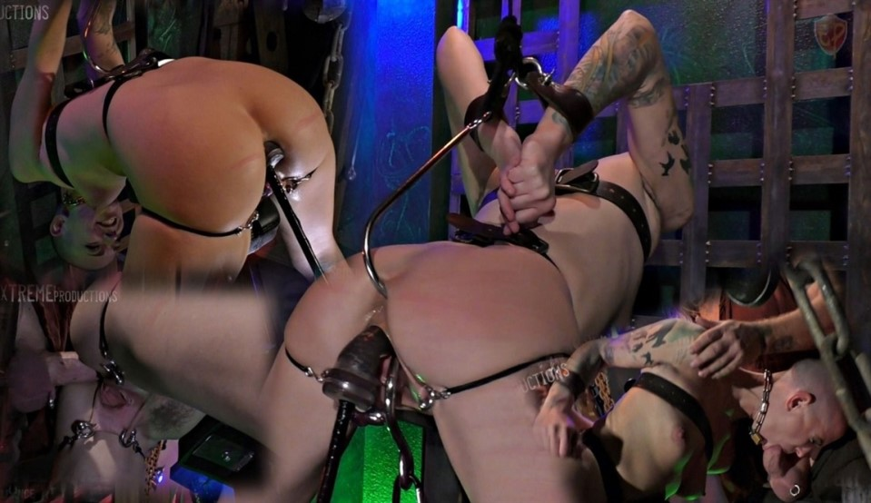 [Full HD] Abigail Dupree - Double Hooked Cock Sucker Abigail Dupree, Master James - SiteRip-00:25:59 | Blowjob, Dildo, Hardcore, Caning, Speculum, BDSM, Anal, Bondage, Anal Hook - 1,3 GB