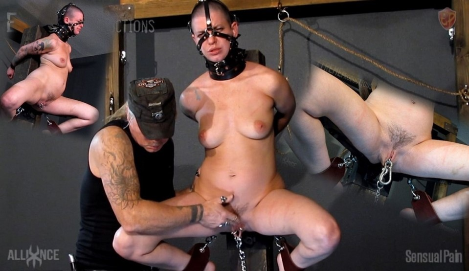 [HD] Abigail Dupree - Spread Wide Brutality Abigail Dupree, Master James - SiteRip-00:27:45 | Pierced Pussy, Fingering, Pussy Torture, BDSM, Whipping, Flogging, Bondage - 1,4 GB