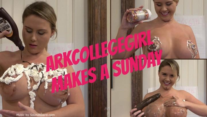 [Full HD] Arkcollegegirl Arkcollegegirl Makes A Sunday ArkCollegeGirl - ManyVids-00:07:58 | Big Boobs,Dildo Sucking,Food,Wet &Amp;Amp; Messy,Whipped Cream Fetishh - 495,9 MB