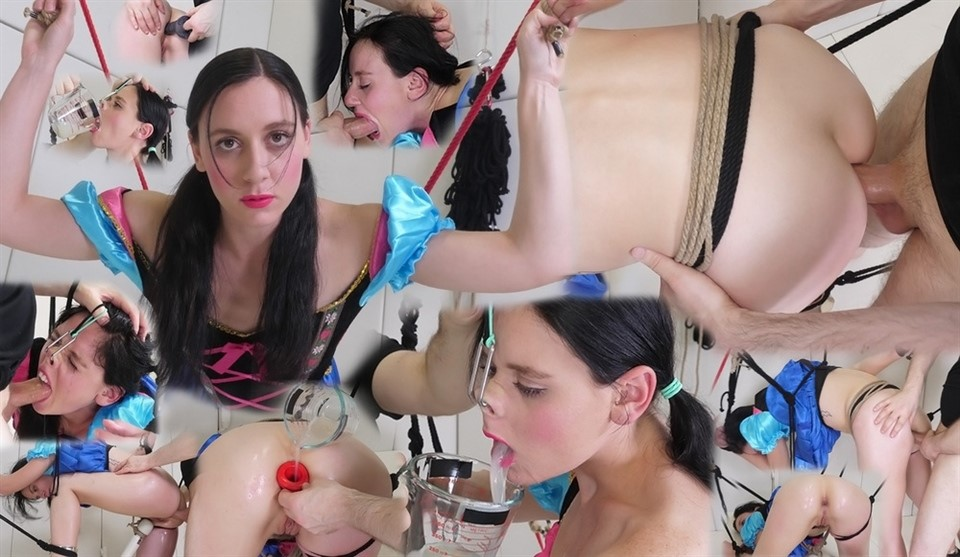 [Full HD] Audrey Holiday - Lesbian Sperm Puppet Audrey Holiday - SiteRip-00:45:18 | Ass to mouth, Ass fucking, Endurance challenge, Rough oral, gagging, Painal, Face fucking, Brunette, Asseating an...