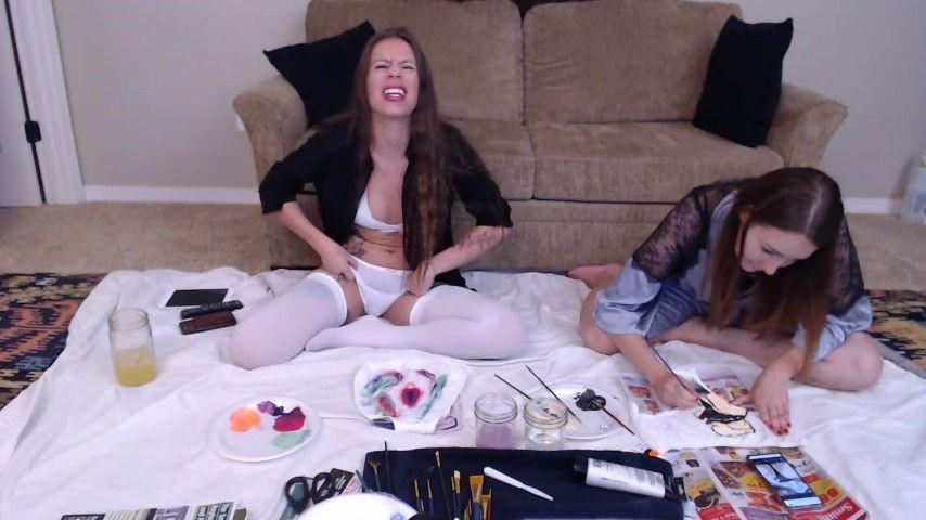 [HD] Ciren Verde Cirenv And Miss Mila Rose Painting Ciren Verde - ManyVids-00:59:10   Painting,Art,Live Cams,Brunette,Long Hair,SFW - 490,5 MB
