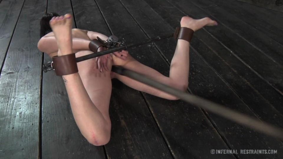 [HD] Coral Aorta Coral Aorta - InfernalRestraints-00:45:27 | Nipple Clamps, Gag, BDSM, Bondage, Humiliation, Torture, Dildo, Vibrator - 2,5 GB