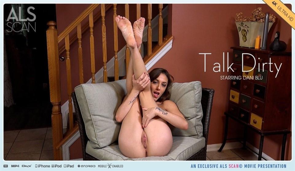 [4K Ultra HD] Dani Blu - Talk Dirty Dani Blu - SiteRip-00:19:01 | Posing, Solo, Fingering, Teen, Masturbation, Brunette, Petite - 2,7 GB
