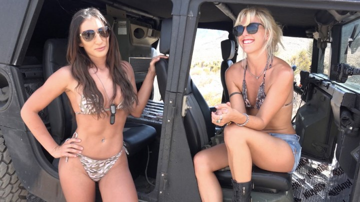 [Full HD] Davina Davis Hot Girls Drive Military Humvee Davina Davis - ManyVids-00:09:21 | Military,Costume,Cosplay,Public Nudity,Public Outdoor,SFW - 1,3 GB