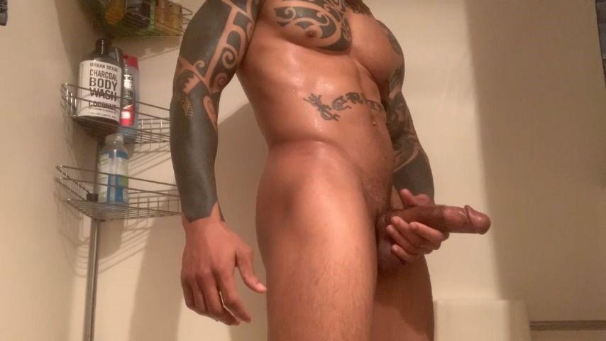 [HD] Eddiejaye Shower Jerk Off Eddiejaye - ManyVids-00:06:39 | BBC,Cumshots,Jerking Off,Shower - 490,9 MB