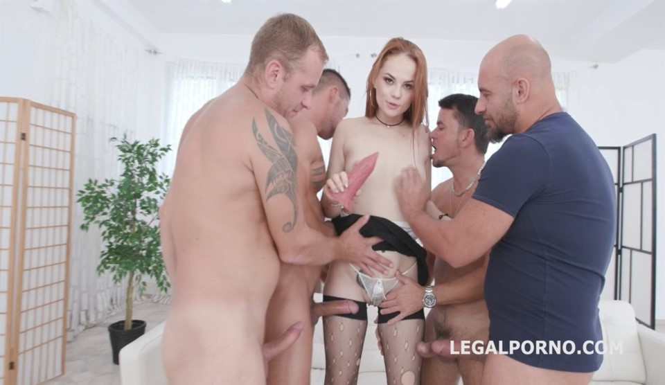 [HD] First Time DAP for Red Linx, 4on1 Balls Deep Anal, DAP, Gapes and Swallow GL087 Red Linx, Neeo, Thomas Lee, Angelo Godshack, Rycky Optimal - SiteRip-00:45:41 | Gangbang, Anal, Redhead, Toys, G...