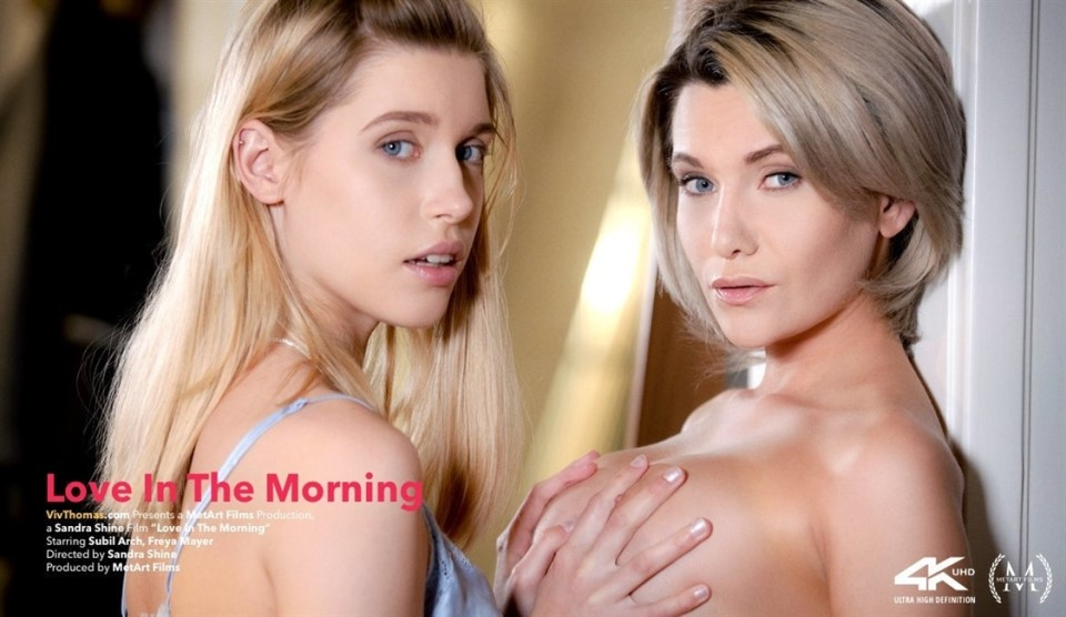 [4K Ultra HD] Freya Mayer &Amp; Subil Arch - Love In The Morning Freya Mayer &Amp; Subil Arch - SiteRip-00:27:46 | Upskirt, Lesbian, Bedroom, Indoors, Breasts, Barefoot - 5,9 GB