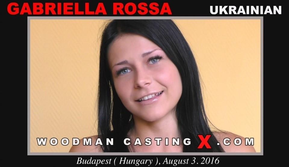 [HD] Gabriella Rossa. Casting X Gabriella Rossa - WoodmanCastingX.Com-01:18:17 | Sex, DP, Gonzo, Russian, Blowjobs, Brunette, Anal, Teens, Casting, Group - 1,2 GB