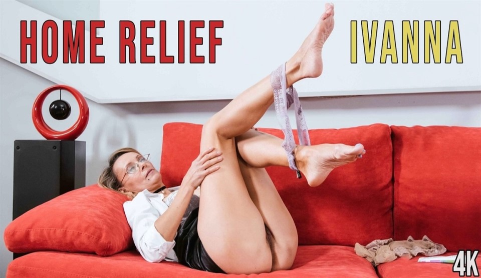 [Full HD] Ivanna - Home Relief Ivanna - SiteRip-00:12:52   Hairy, Blonde, Slim, Mature, Pantyhose, Solo Girl - 738,5 MB