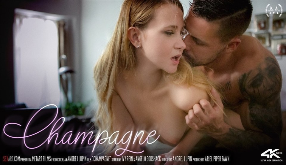 [Full HD] Ivy Rein &Amp; Angelo Godshack - Champagne Ivy Rein - SiteRip-00:21:03 | All Sex, Romantic, Indoor, Blonde, Tattoo - 1,2 GB