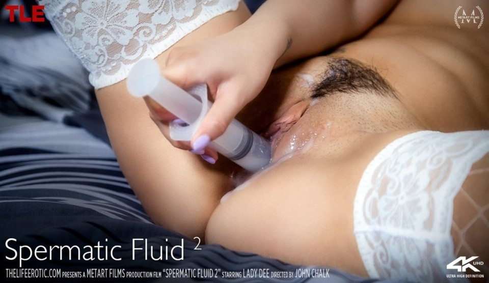 [4K Ultra HD] Lady Dee - Spermatic Fluid 2 Lady Dee - SiteRip-00:10:47 | Posing, Stockings, Solo, Brunette, Breasts, Upskirt, Bedroom, Indoors, Unifors, Tattoo - 787,2 MB