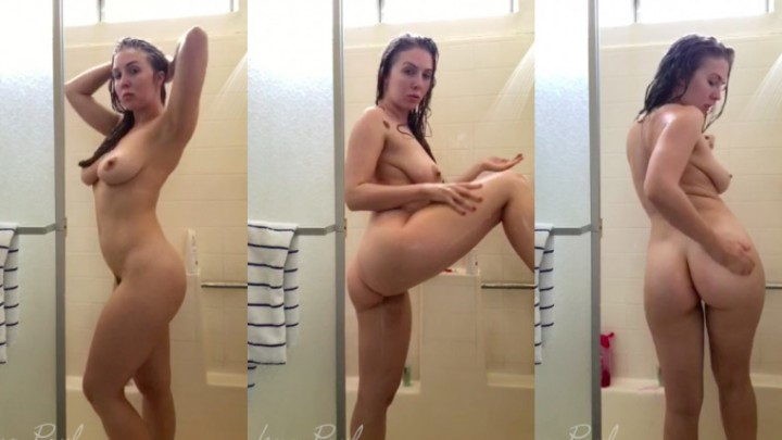 [SD] Lena Paul Shower With Me Lena Paul - ManyVids-00:06:01 | Shower Scenes,Solo Female,Wet Look,Hair Washing - 143,9 MB