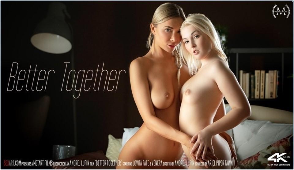 [HD] Lovita Fate & Venera - Better Together Lovita Fate & Venera - SiteRip-00:22:11 | Camisole, Pierced, 69, Barefoot, Lesbian, Bedroom, Blonde - 635,5 MB