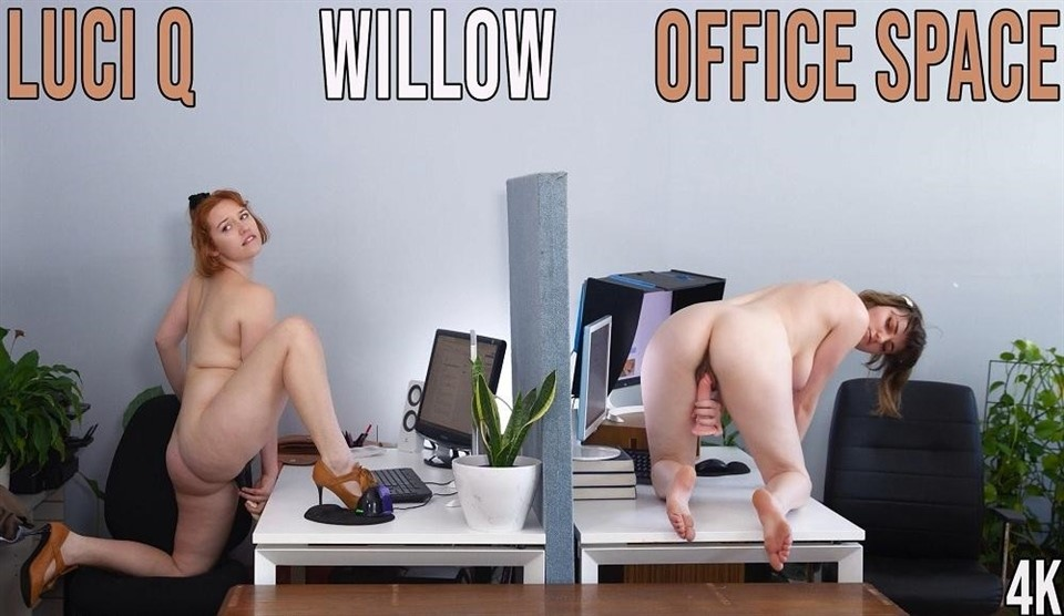 [Full HD] Luci Q & Willow - Office Space  Luci Q & Willow - SiteRip-00:18:33 | hairy, lesbian, masturbation - 1,1 GB