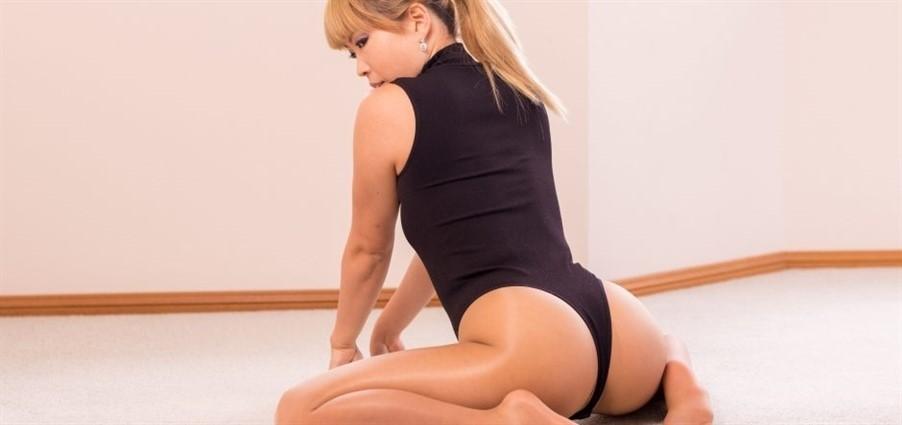 [Full HD] Mina - Black Thong Bodysuit Mina - RestrictedSenses.Com-00:15:34 | Bondage - 563,6 MB