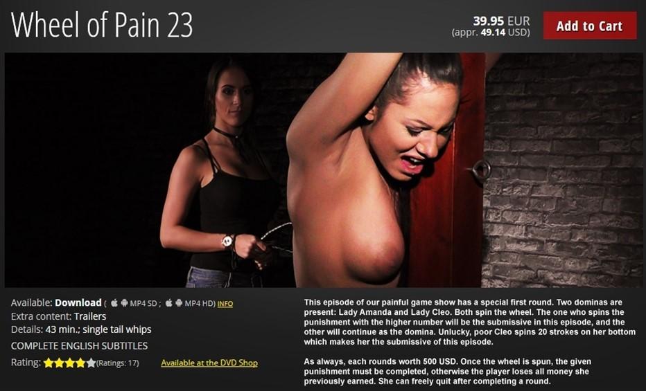 [HD] Mistress Amanda &Amp; Cleo Amanda, Cleo - ElitePain-00:43:08 | Torture, Humiliation, BDSM, Whipping, Spanking, Pain - 1,3 GB