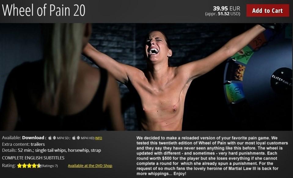 [HD] Mistress Ariel &Amp; Lyen Parker Lyen Parker, Mistress Ariel - ElitePain-00:51:59 | BDSM, Torture, Humiliation, Spanking, Whipping - 1,5 GB