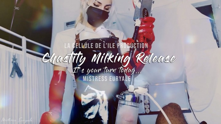 [Full HD] Mistress Euryale Chastity Milking Release Mistress Euryale - ManyVids-00:06:40   Chastity Devices,Apron Fetish,Femdom POV,Medical Fetish,Glove Fetish - 179,8 MB