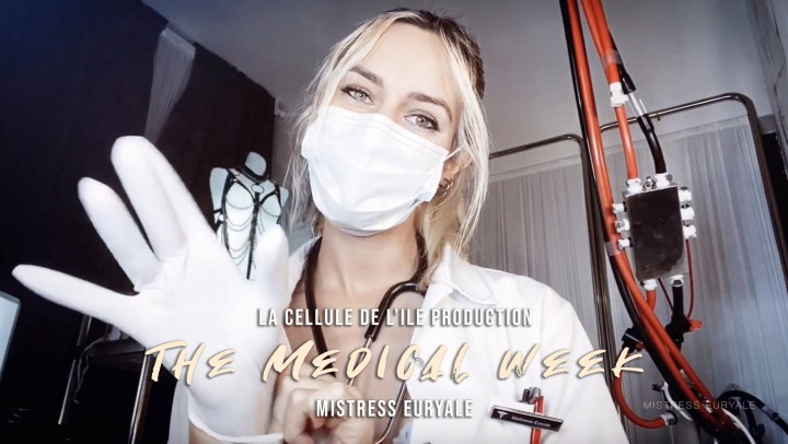 [Full HD] Mistress Euryale The Medical Week Compilation Mistress Euryale - ManyVids-00:48:01 | Chastity,Cum Eating Instruction,Medical Clinic,Medical Fetish,Nurse Play,SFW - 2,6 GB
