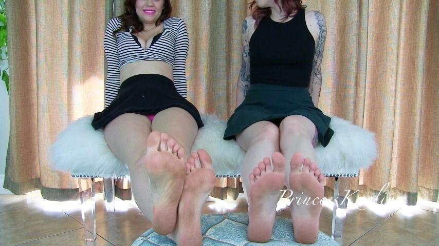[Full HD] Princess Kaelin Lick Our Dirty Feet And Jerk With Abbey Princess Kaelin - ManyVids-00:08:46 | Dirty Feet,Double Domination,Foot Worship,POV Foot Worship,Femdom,SFW - 387,6 MB