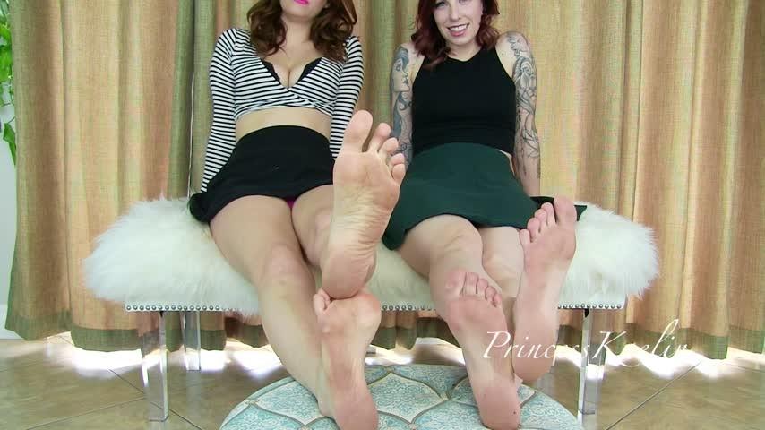[Full HD] Princess Kaelin Lick Our Dirty Feet Ft Abbey Rhode Princess Kaelin - ManyVids-00:08:46 | Dirty Feet,Double Domination,Femdom POV,Foot Fetish,Foot Humiliation - 387,5 MB