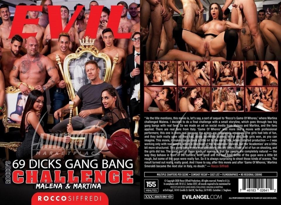 Rocco'S 69 Dicks Gang Bang Challenge Malena & Martina