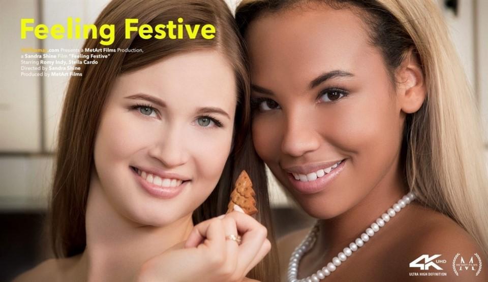 [Full HD] Romy Indy & Stella Cardo - Feeling Festive Romy Indy & Stella Cardo - SiteRip-00:21:10 | Indoors, Lesbian, Tattoo, Bracelet - 1,2 GB