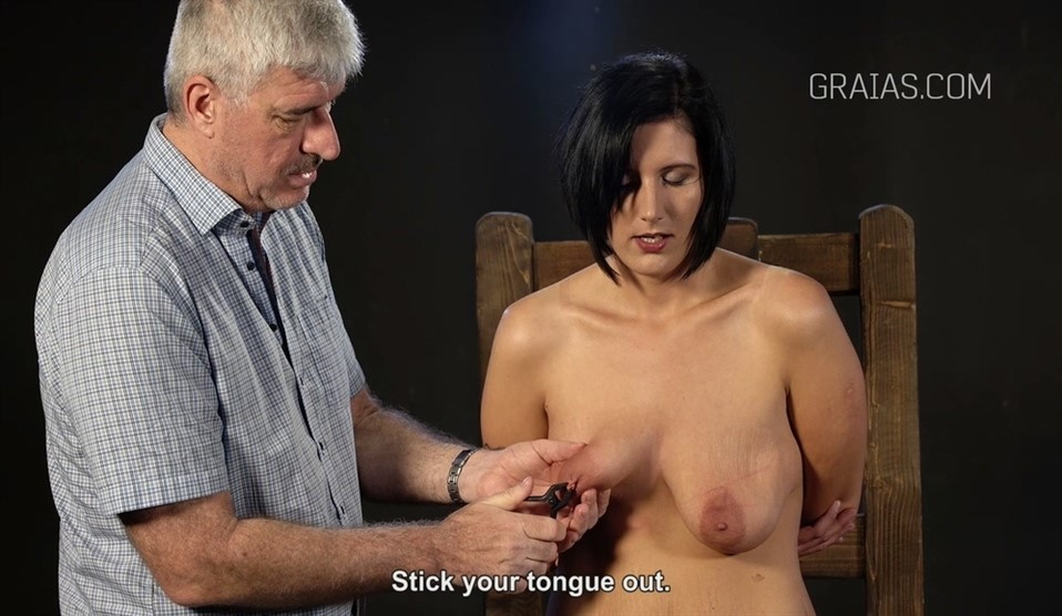 [Full HD] Roxy Casting Roxy - Graias.Com-00:16:40 | BDSM, Humiliation, Torture, Pain, Needles, Nipple Clamps - 1,2 GB