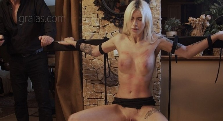 [4K Ultra HD] The Beauty - Part Mix - Graias.Com-00:28:36 | Torture, Whipping, Spanking, BBW, Pain, Humiliation, BDSM - 2,1 GB