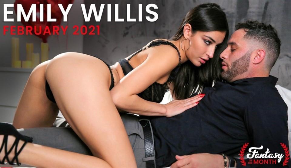 [4K Ultra HD] Emily Willis - February 2021 Fantasy Of The Month №1 Emily Willis - SiteRip-00:33:36 | Brunwette, Rough Sex, Latina, Handjob, Deep Throat, Blowjob, Cowgirl, Passion, All Sex, Petite, Panties - 7,1 GB