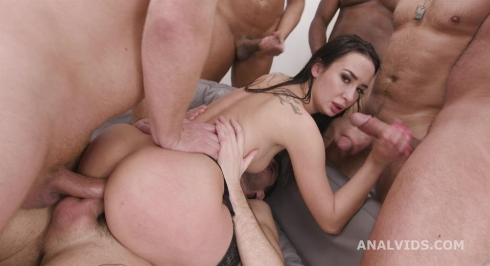 [HD] 7on1 Double Anal Gang Bang, DAP, Gapes, First ButtRose and Swallow GIO1738 Freya Dee - SiteRip-00:55:07 | Double Anal, Deep Throat, Anal, Blowjob, Cum Swallowing, Prolapse, Gangbang, Interraci...